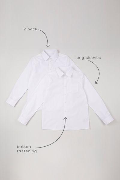 2 Pack Boys Long Sleeve Shirts