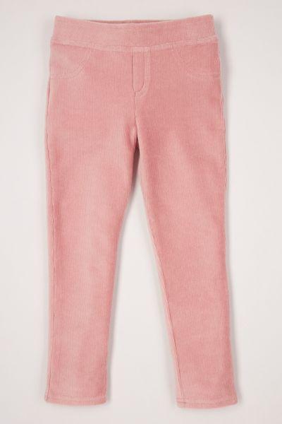 Pale Pink Velour Leggings