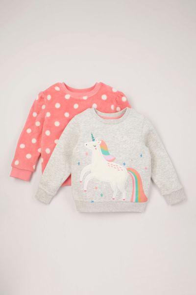 2 Pack Unicorn Sweatshirts