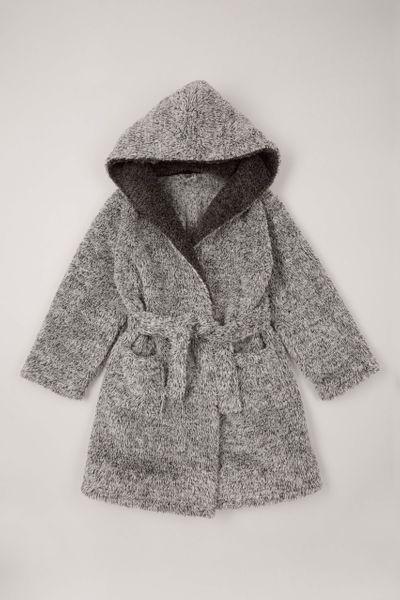 Grey Soft Robe