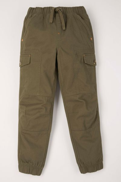 Khaki Cargo Trousers