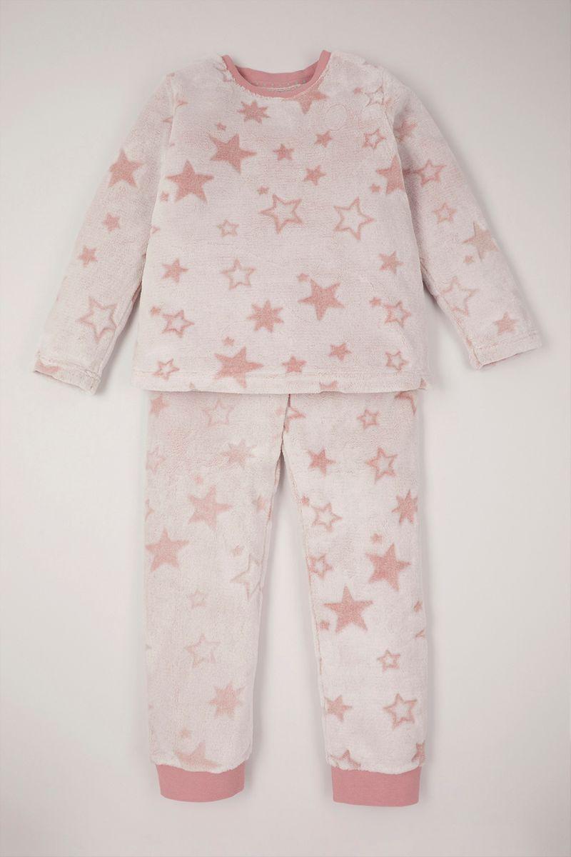 Star Embossed Pyjamas