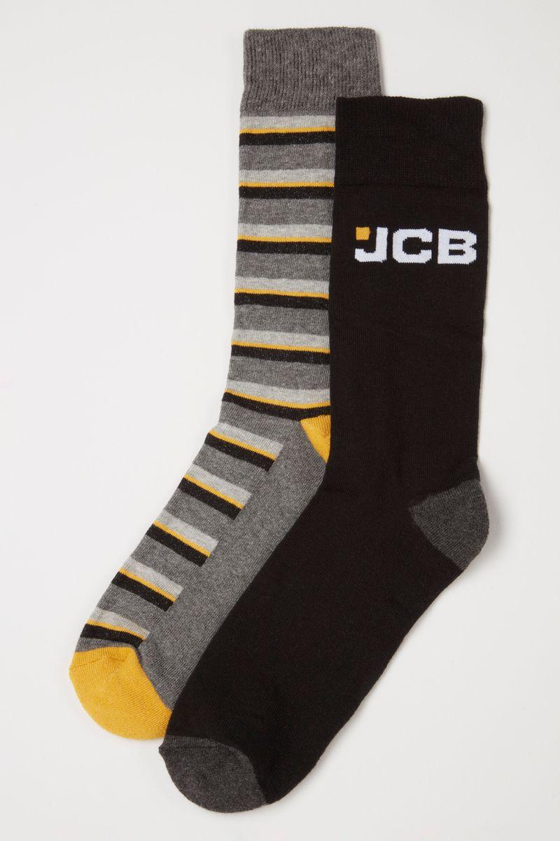 2 Pack JCB digger socks