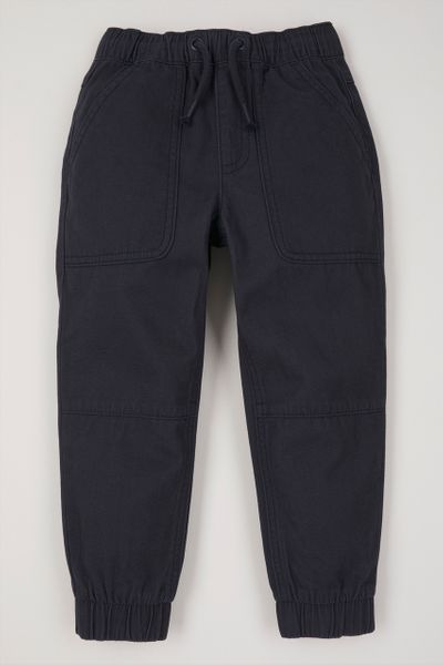 Navy Woven Trousers 1 - 10 yrs