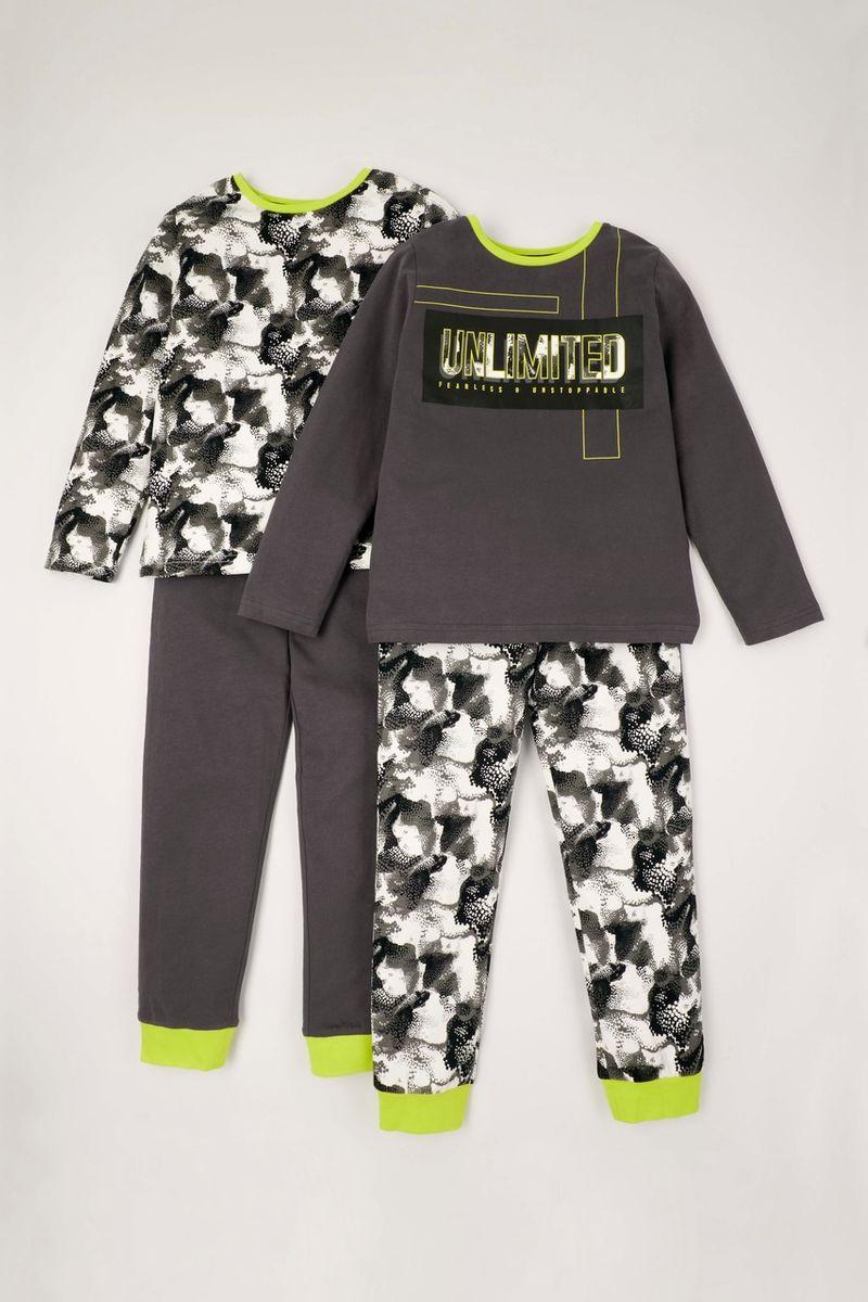 2 Pack Camo Print pyjamas