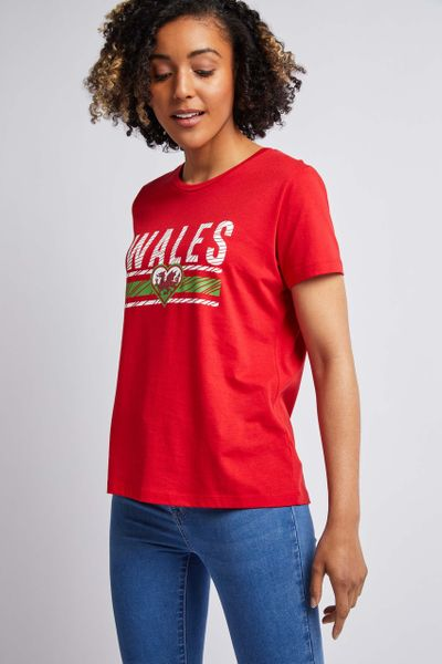 Womens Wales T-Shirt
