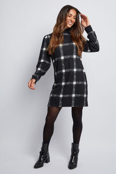 Cosy Check Dress