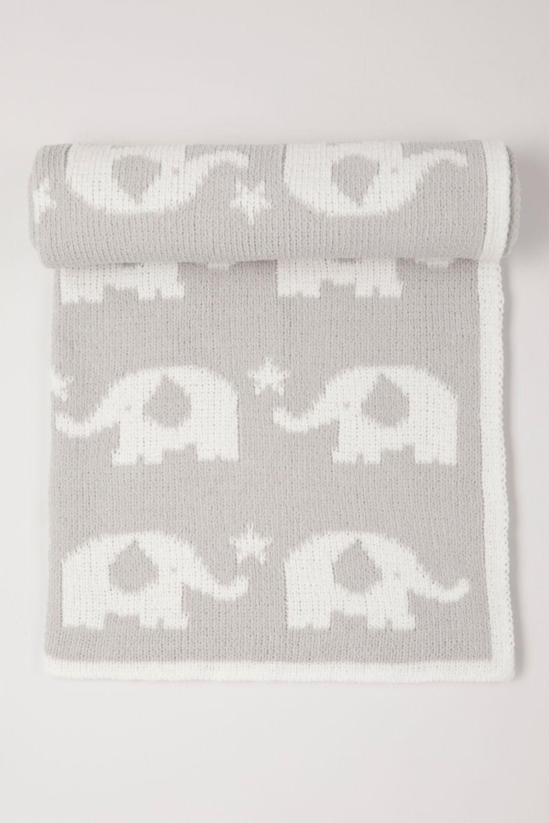 Elephant Chenille shawl