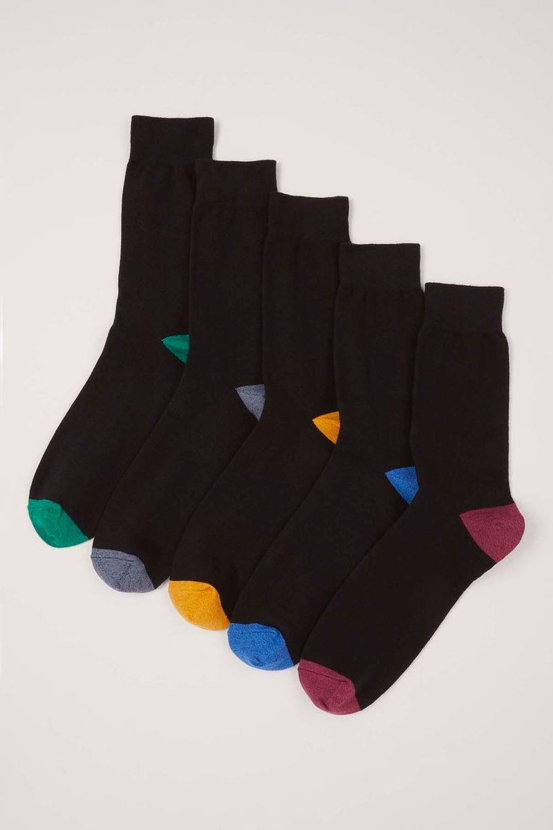 5 Pack Twist Colourful Socks