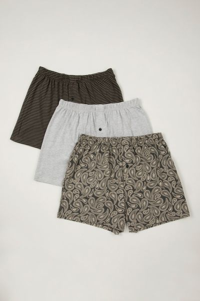 3 Pack Paisley boxers