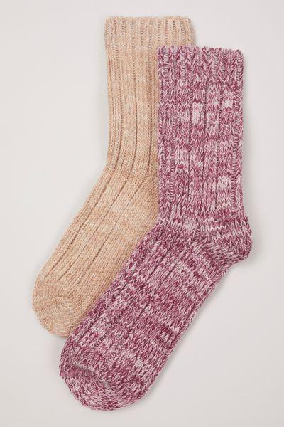 2 Pack Bramble Socks