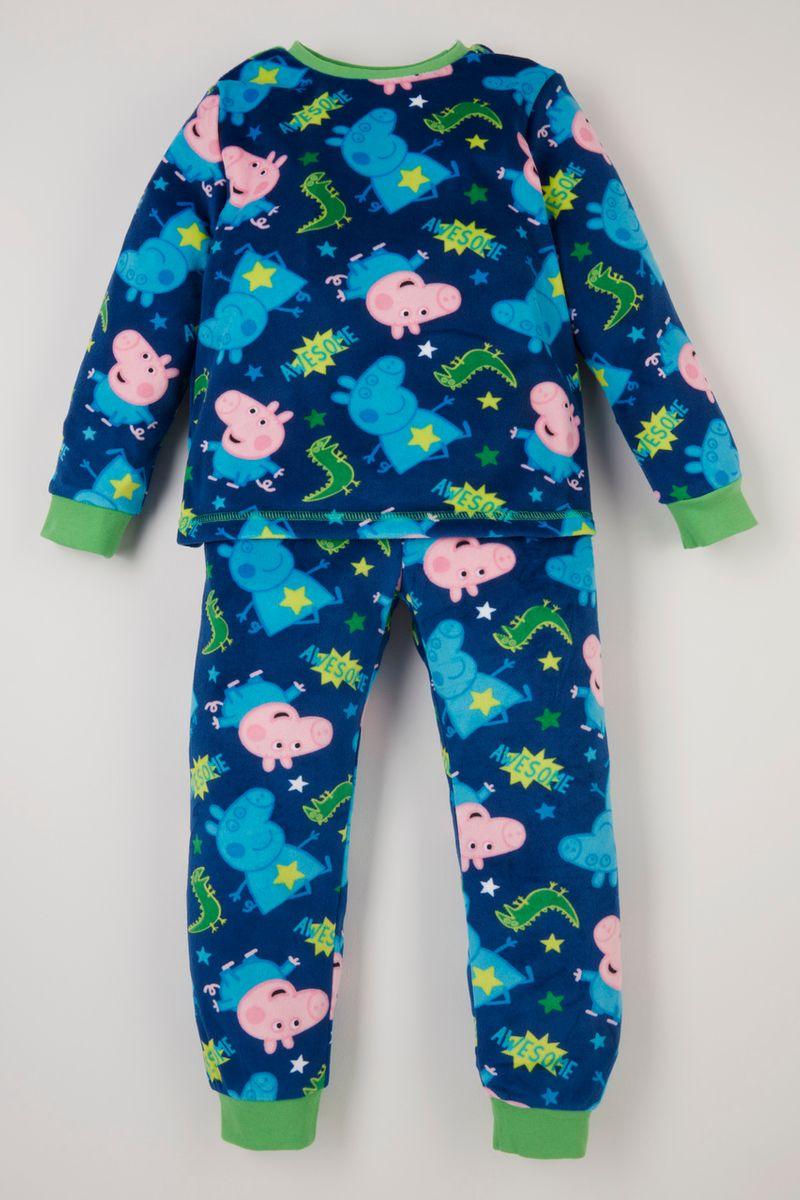 Peppa Pig George Pig Colourful fleece pyjamas