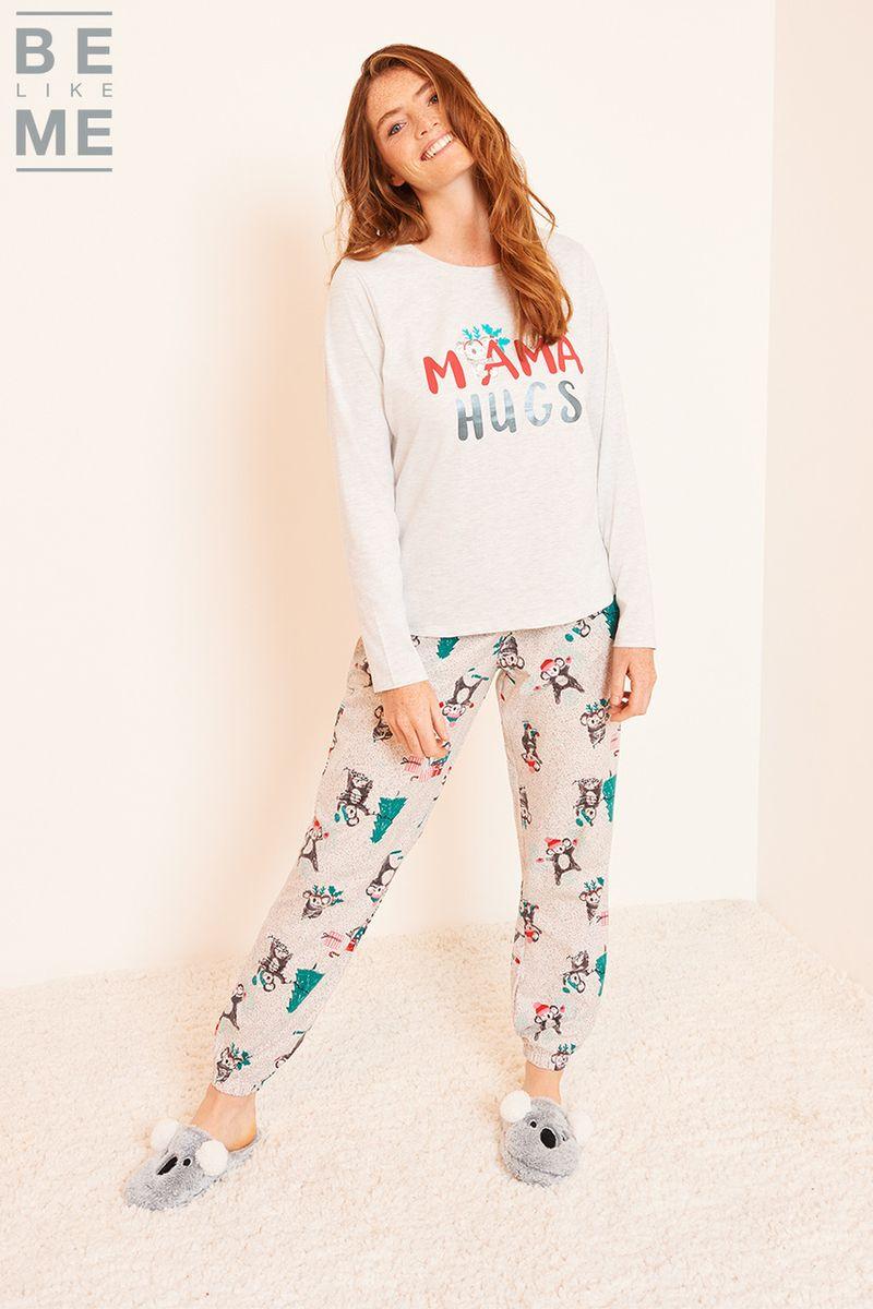 Family Of Ladies Koala Hugs Pyjamas