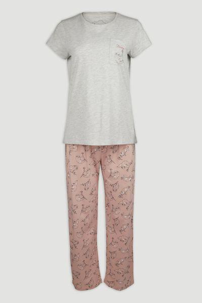 Sloth Print pyjamas