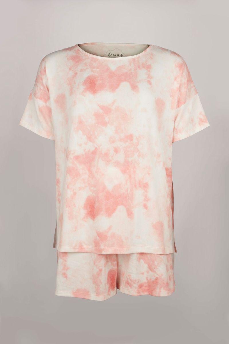 Pastel Tie Dye Top & shorts