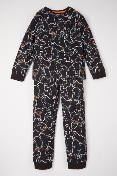 Halloween Family Of Kids Pyjamas
