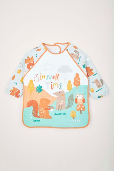 Dinner Time Coverall Bib