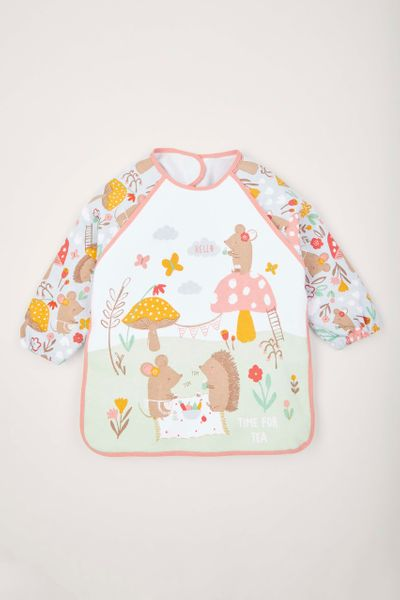 Time for Tea Coverall Bib