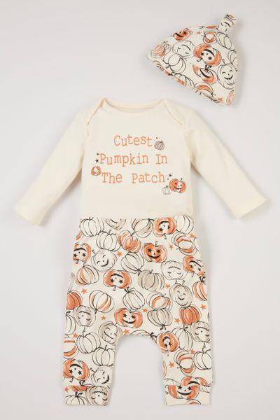 3 Piece Pumpkin Set