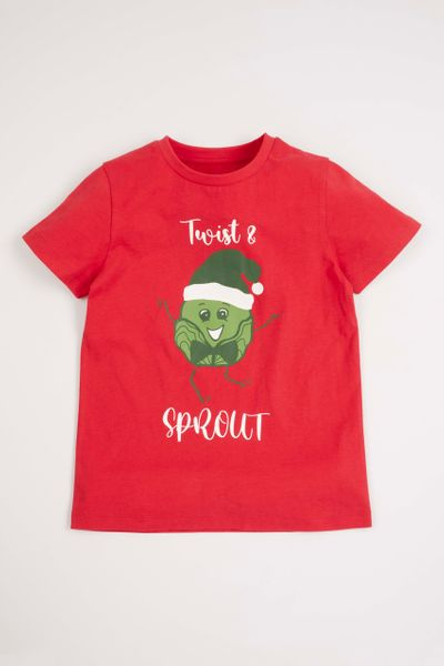 Twist & Sprout Christmas T-shirt 1-14 yrs