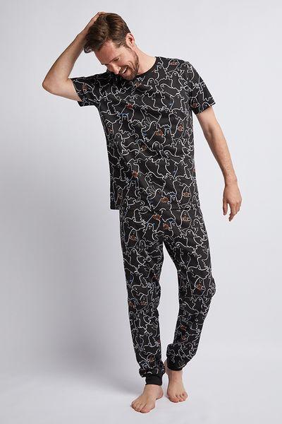 Halloween Family Of Mens pyjamas