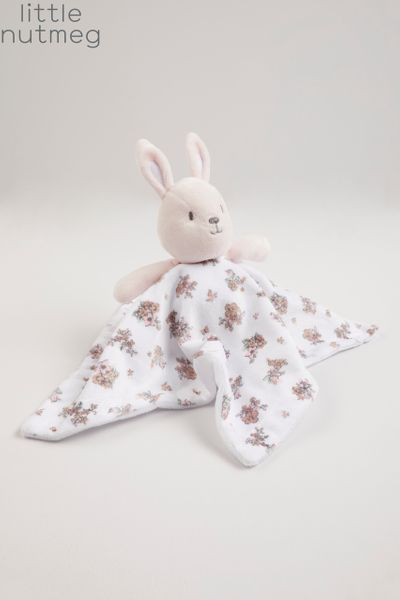 Little Nutmeg Bunny Flower Snuggler