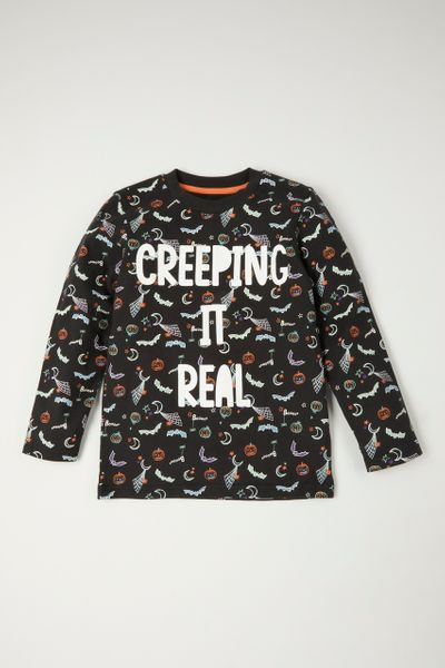 Halloween Creeping it real T-Shirt