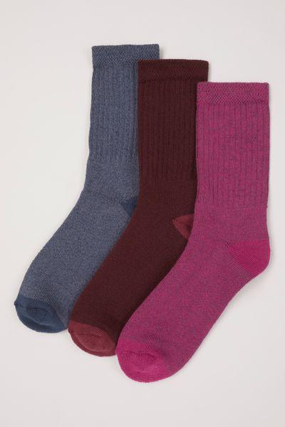 3 Pack Bramble Blueberry Socks