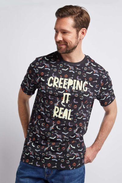 Halloween Creeping it real Top