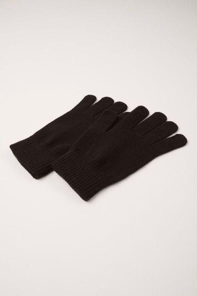 2 Pack Womens Black Gloves
