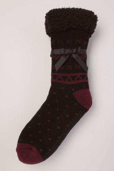Fairisle Lounge Socks