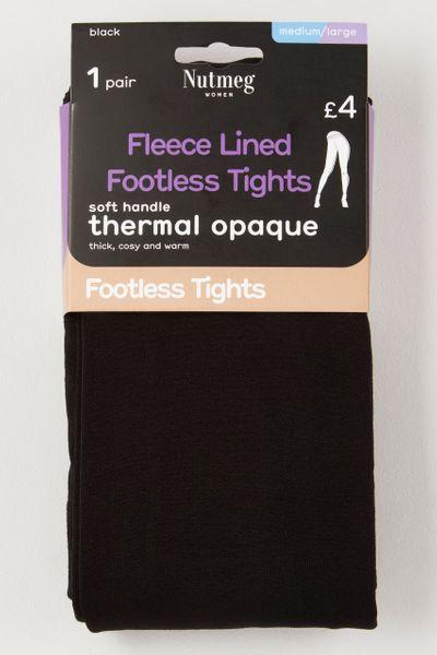 Black Fleece Footless tights