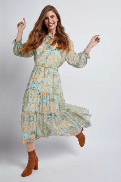 Paisley Tea Dress