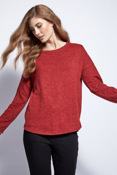 Red Cosy Top