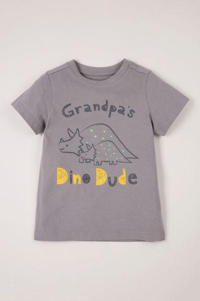 Grandpa Dino Dude T-shirt