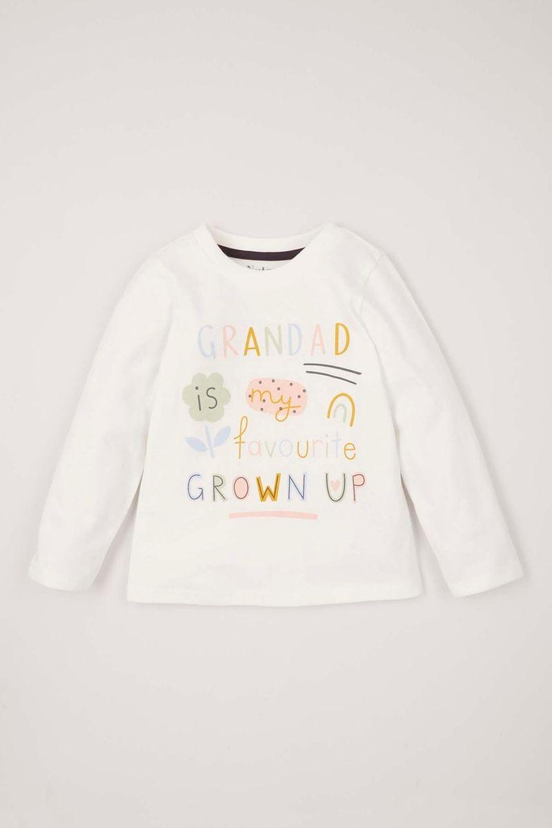 Online Exclusive Grandad T-shirt