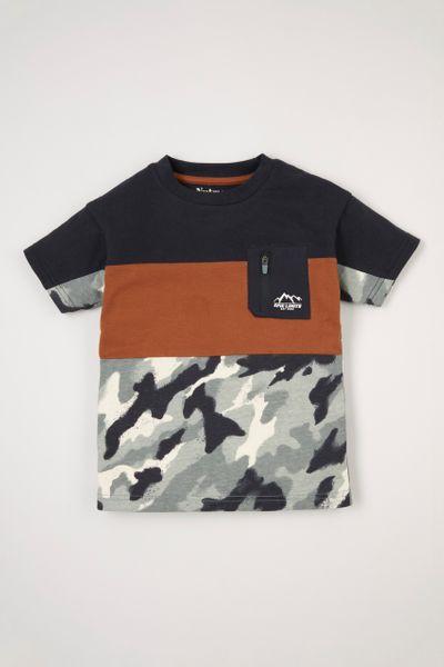 Camo Panel T-shirt