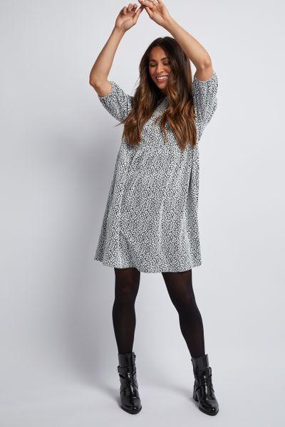Animal Jacquard Jersey dress