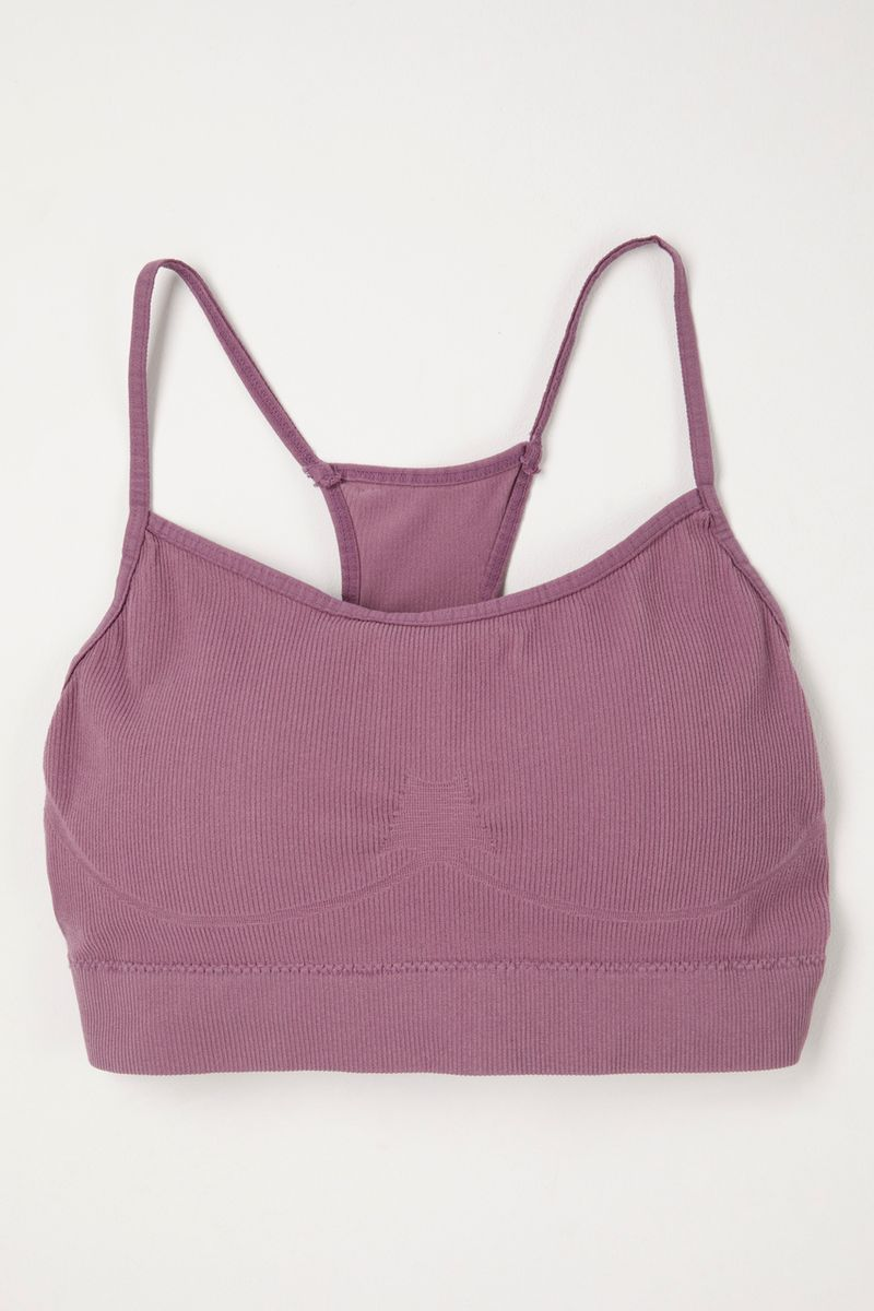 Purple Wire-Free bra